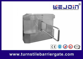Китай Acrylic plate Arm Turnstile Entry Swing Barrier Gate Systems With Dry Contact Interface завод