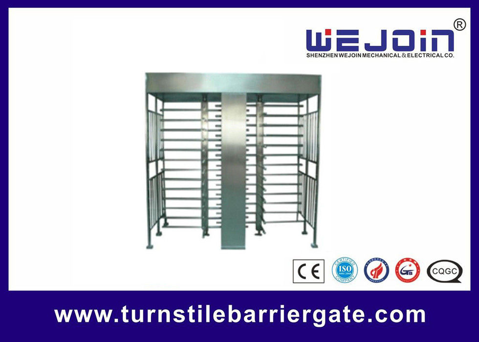 Full Height Access Control Turnstile Gate for IC , ID , magcard ,bar code поставщик